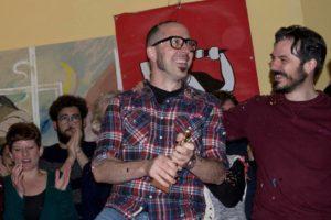 Il vincitore Mauro Piredda (foto di Rina Sanna)