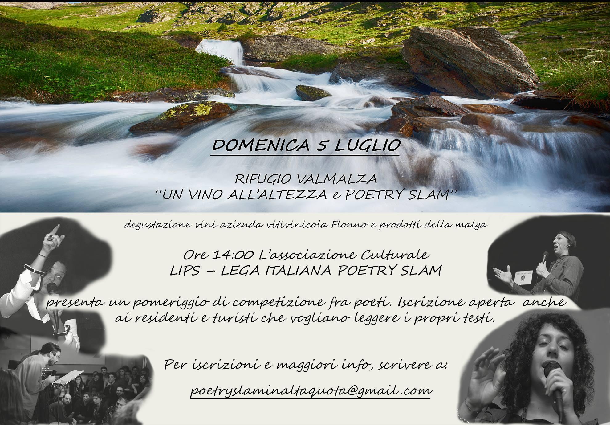 LIPS - poetry slam in quota